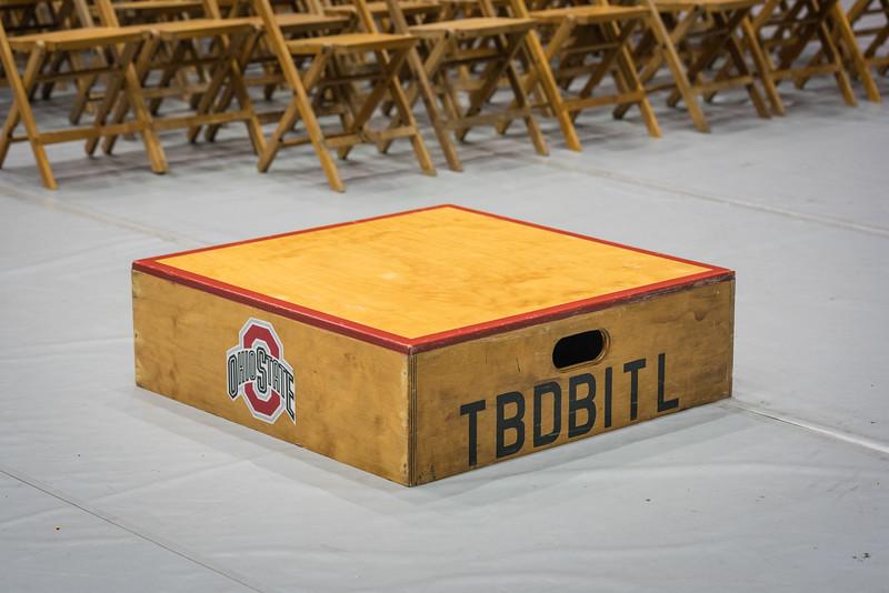 OSUMB Skull Session podium