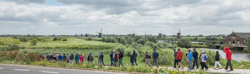 Kinderdijk, Netherlands - June 21, 2018