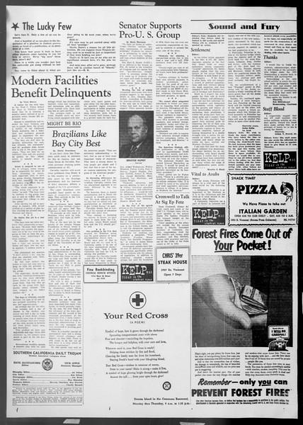 Daily Trojan, Vol. 45, No. 40, November 16, 1953