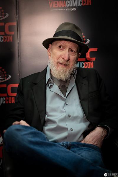 Frank Miller at Vienna ComicCon 2019 VIECC