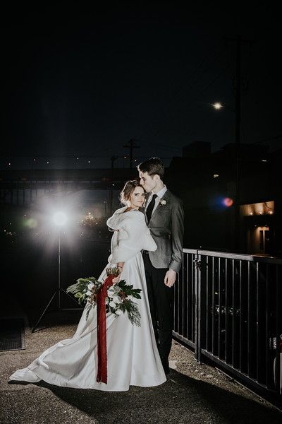 Kirk and Tarah Anderson Wedding 12-22-18