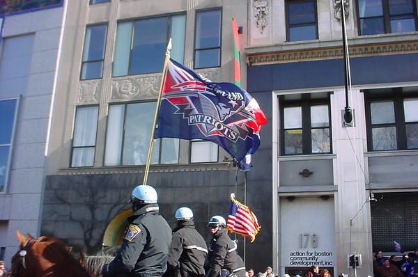 Patriots Super Bowl Parade