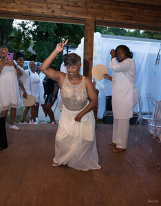 Mary Dickson's 70th All White Party