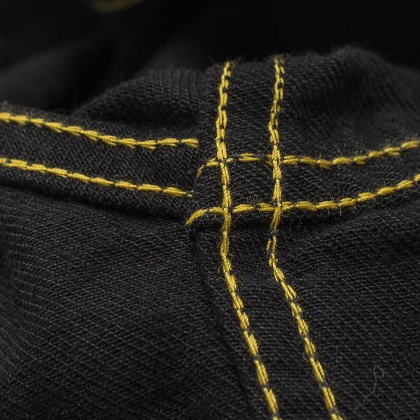 IHSH-166 - Superblack 12oz Selvedge Denim CPO Style Western Shirt-6235.jpg