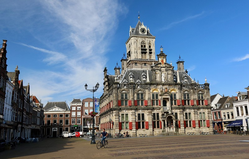 15th century Town Hall - Delft, the Netherlands.