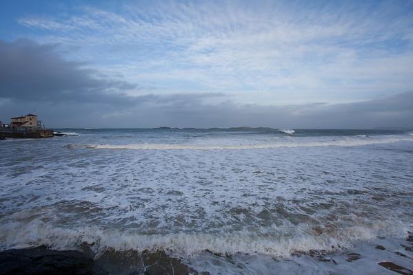 Surfing NYE Eve East Strand Portrush