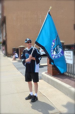 Rochester Knighthawks 3 peat parade 2014