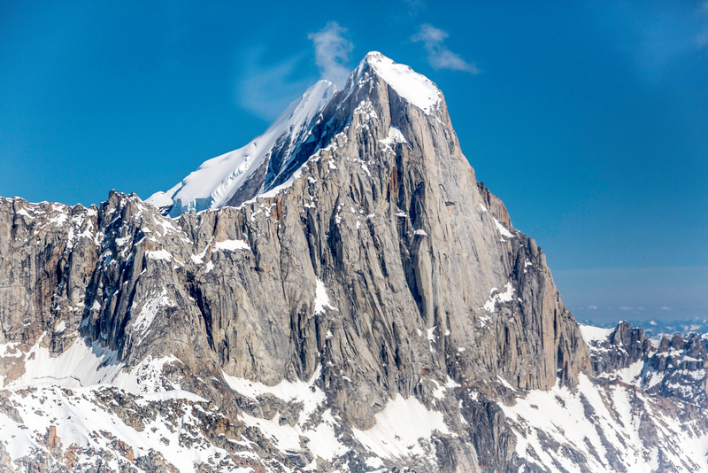 """The """"Moose's Tooth"""" granitic spire, near Mount McKinley"""