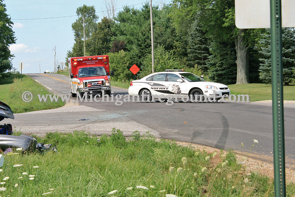 7/29/11 - Mason multiple PI accident, College Rd & Kipp Rd