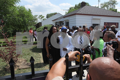 M.Jackson Monument Dedication