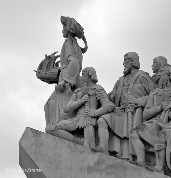 Thur 3/17 in Lisbon: Henry the Navigator leads the way