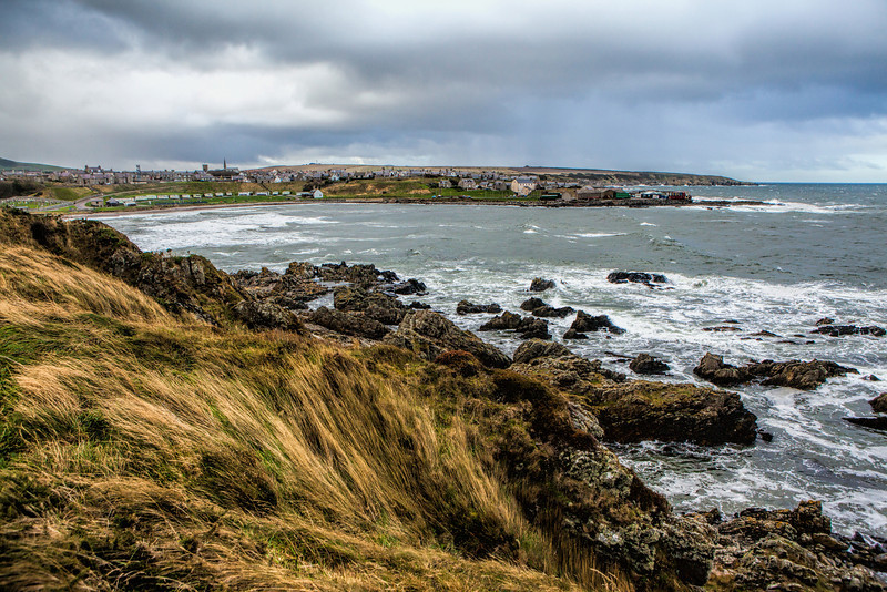 Links Bay, Portsoy, Aberdeenshire, Scotland.