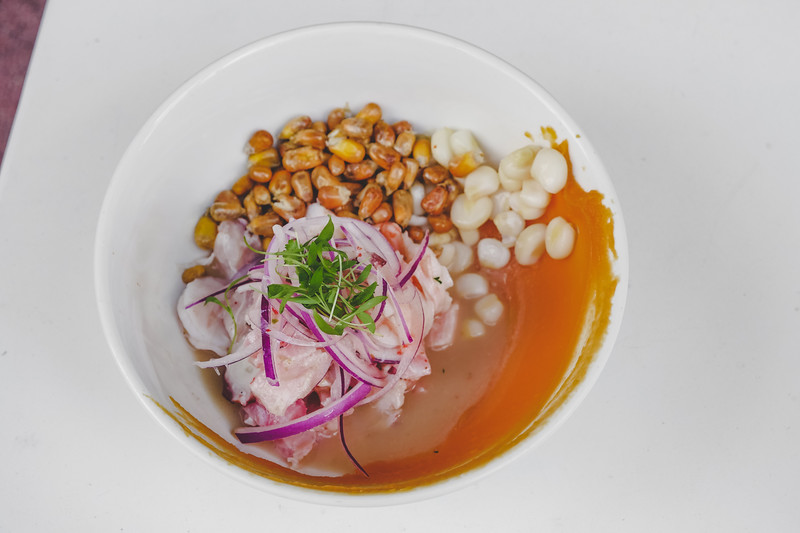 Ceviche Mixto from 33 Kitchen