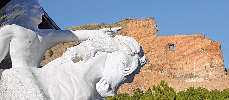 Crazy Horse Memorial @ South Dakota