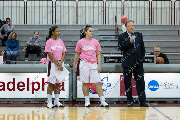 """Philadelphia University Women""""s Basketball vs Caldwell"""