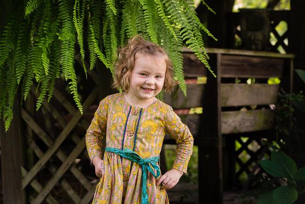 Evie Kieffer Age 4