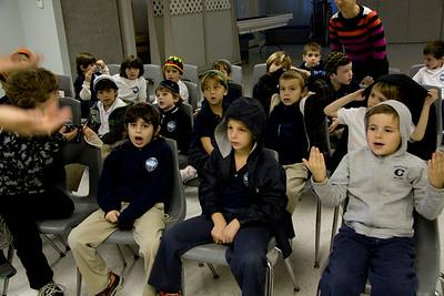 Kindergarten Celebrates Finishing Bereishit
