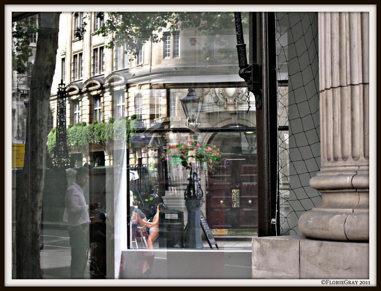 Sunny Goodge Street; London