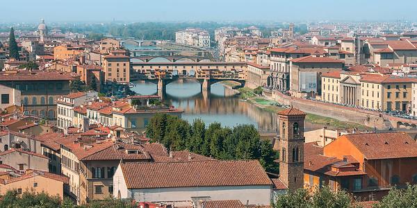 Florence, San Gimignano, and Siena