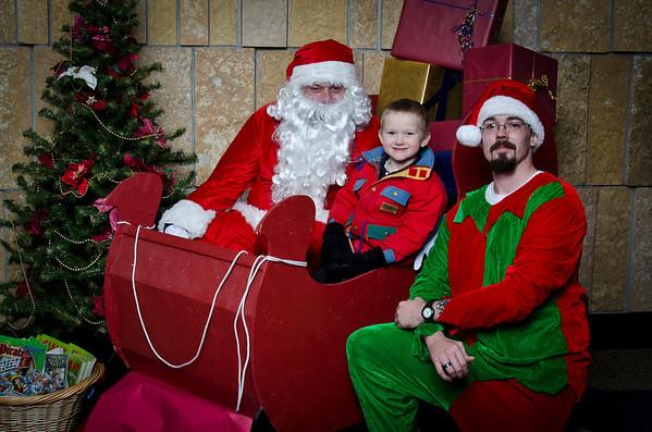 Santa at SCC 2011