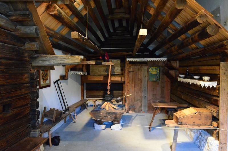 Alpine Diary Museum. Stara Fu