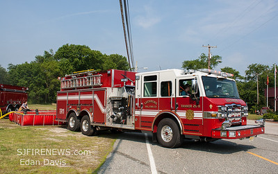 06/09/2018, Water Shuttle Drill, Commercial Twp. Cumberland County NJ, Noble St