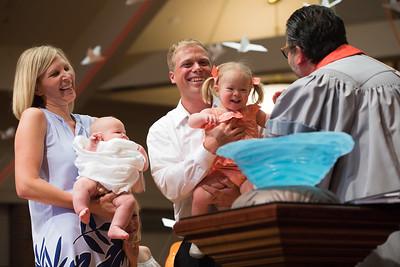 6/5/17 Pentecost Sunday, Baptism, Youth Send Off