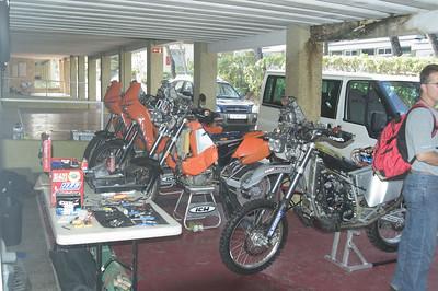 Nomad's Bivouac - Dakar2006 - Inatel Oeiras