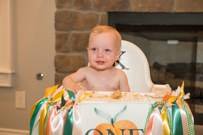 Knox and Evelyn's 1st Birthday Party