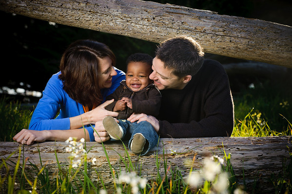 John + Kathleen = Adane (Family Photography, Lighthouse Field, Santa Cruz)