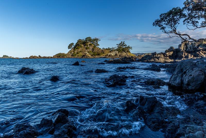 Oakura - Blick auf die Short Island