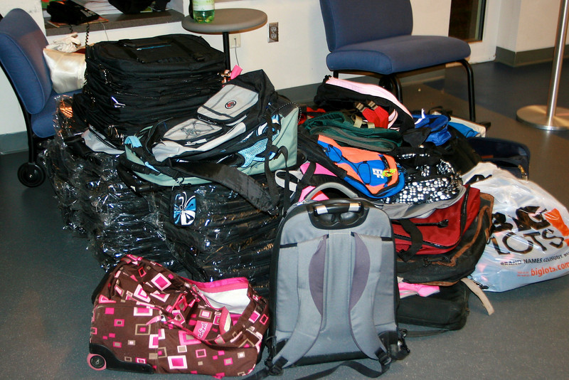 All these backpacks came in today - and they all went out today1.jpg