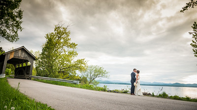 Brittany & Dan: Married at The Old Lantern Inn in Charlotte, Vermont