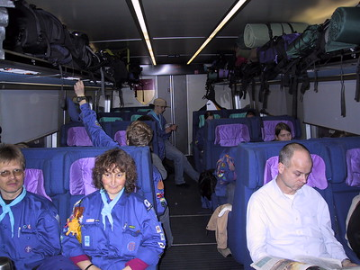 Klump-træning Forår 2004