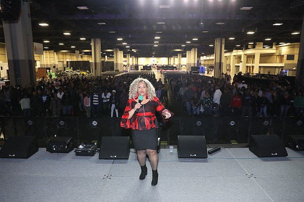 CIAA Friday Activation Convention Center March 1, 2019