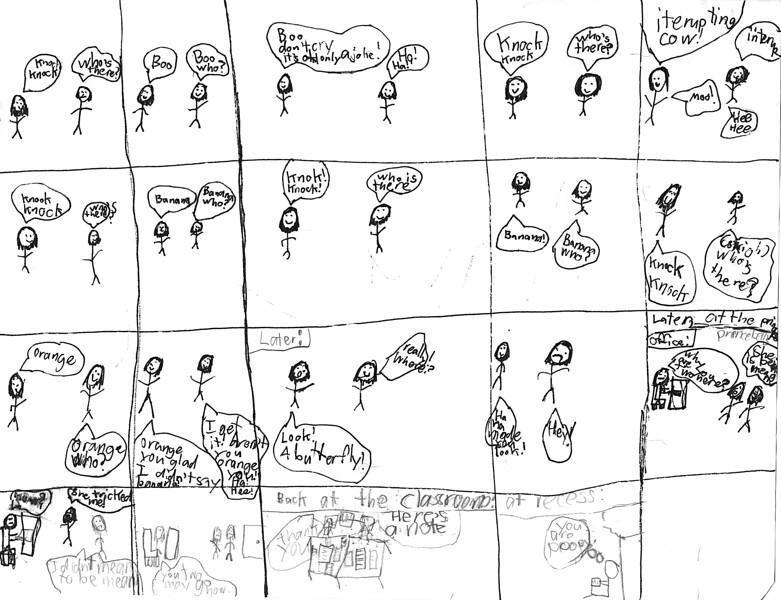 Comics by Anya.