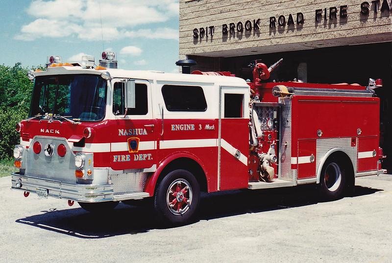 Retired   Engine 3   1979 Mack CF / Ranger   1000 / 750