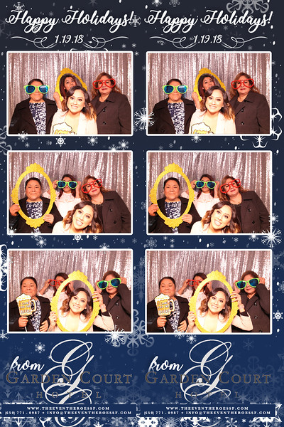Garden Court Hotel's Holiday Party | 01.19.2018