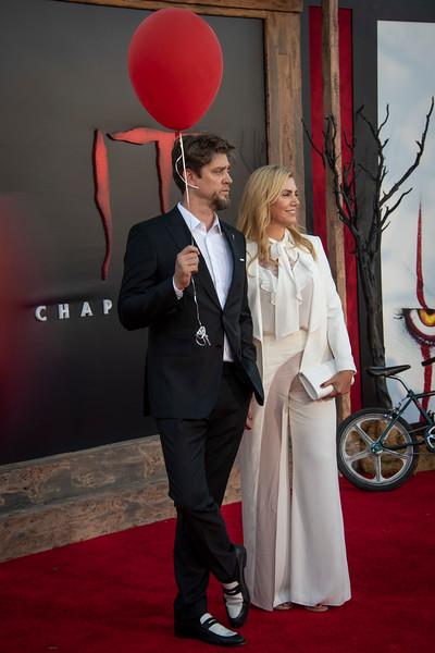 "WESTWOOD, CA - AUGUST 26: Andy Muschietti and Barbara Muschietti attend the Premiere Of Warner Bros. Pictures' ""It Chapter Two"" at Regency Village Theatre on Monday, August 26, 2019 in Westwood, California. (Photo by Tom Sorensen/Moovieboy Pictures)"