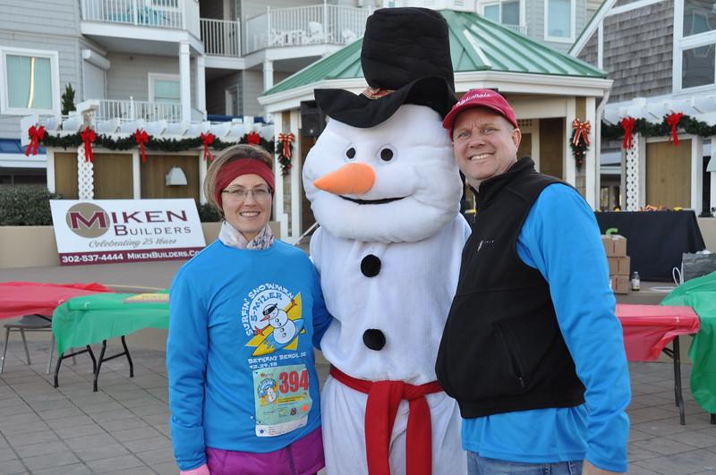 2018 Surfin' Snowman 5 Miler & 2 Mile Walk