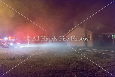 20180102 - Unincorporated Mount Juliet - House Fire