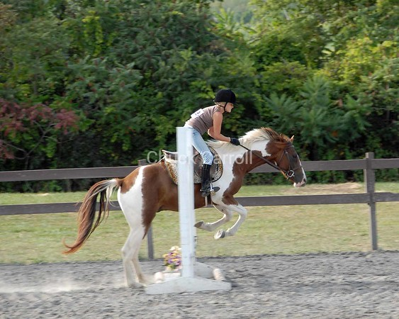 Grange Fair 2008 --  Centre County Horse Show  --   Tuesday August 26