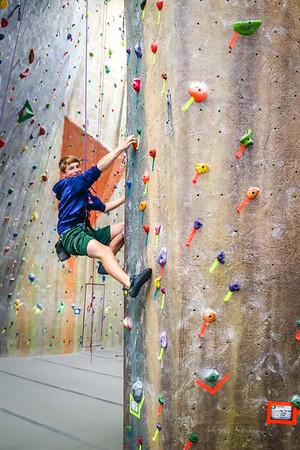 Rock Climbing Practice