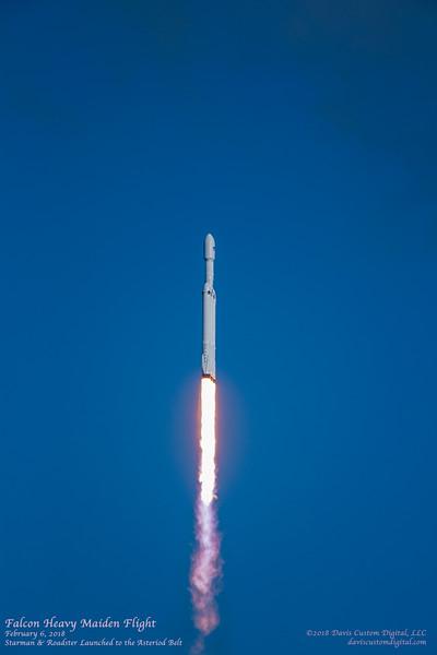 Falcon Heavy Maiden Flight