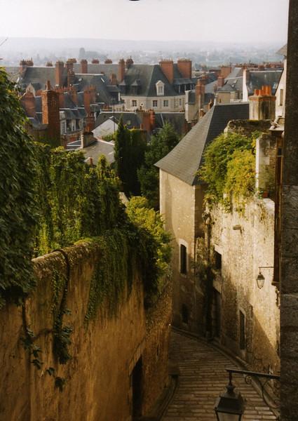 Blois sidewalk