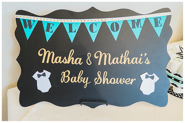 Masha and Mathai Baby Shower