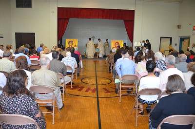 Community Life - First Liturgy at Brown's Lane - June 26, 2011