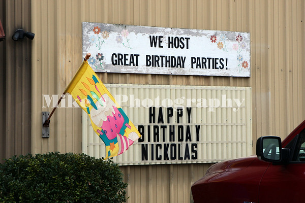 Nickolas 10th Birthday