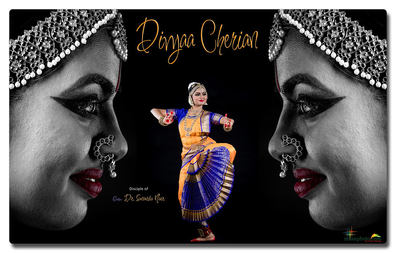 Divyaa Cherian's Pre-Arangetram Portraits 2020