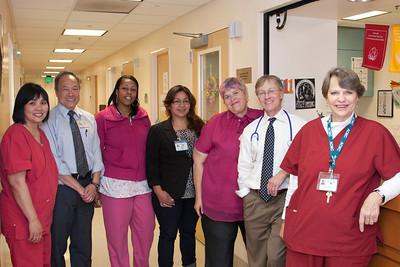 Hem/Onc Clinic Staff July 2011